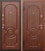 Входная металлическая дверь Gutenberg МДФ/МДФ