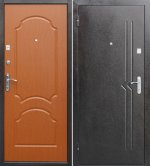 Стальная дверь МДФ №4